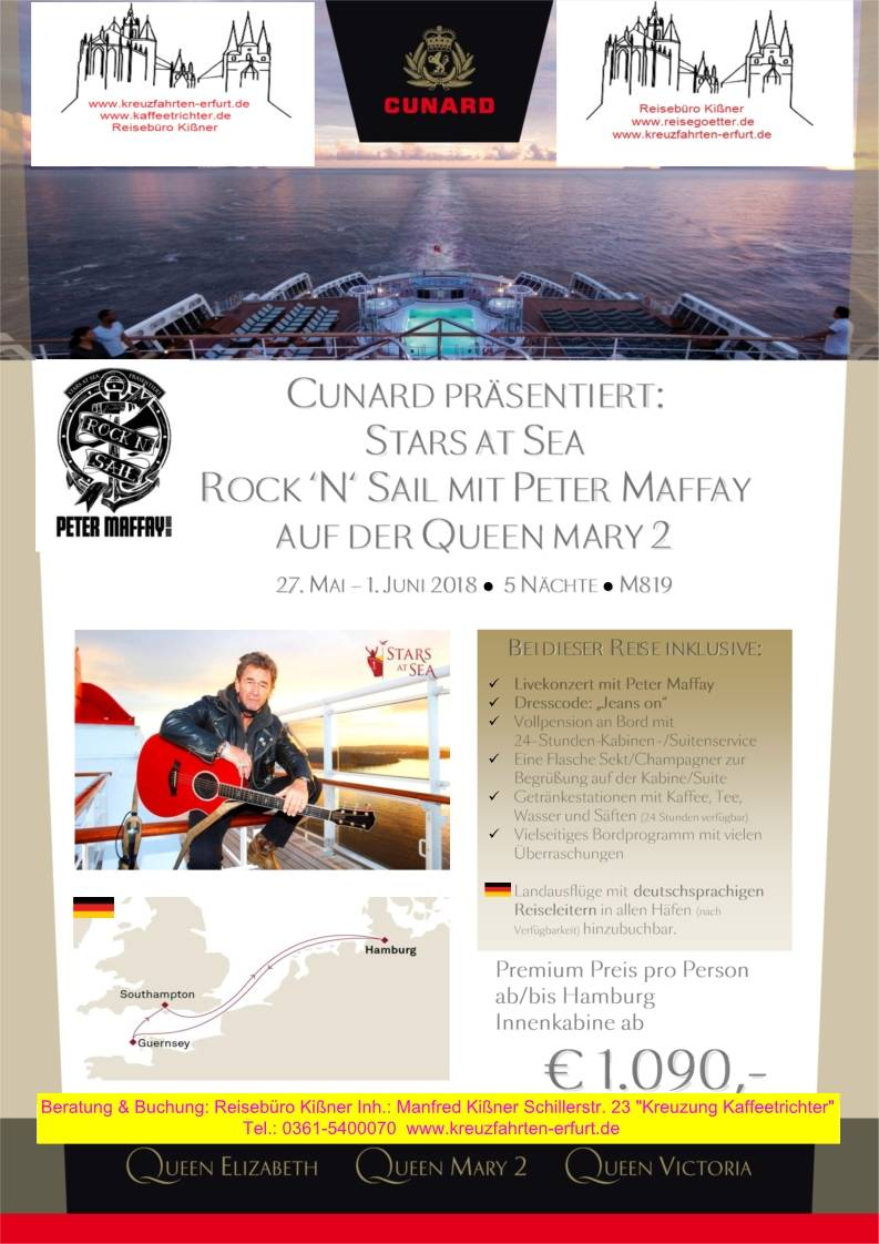 Peter Maffay & Queen Mary2