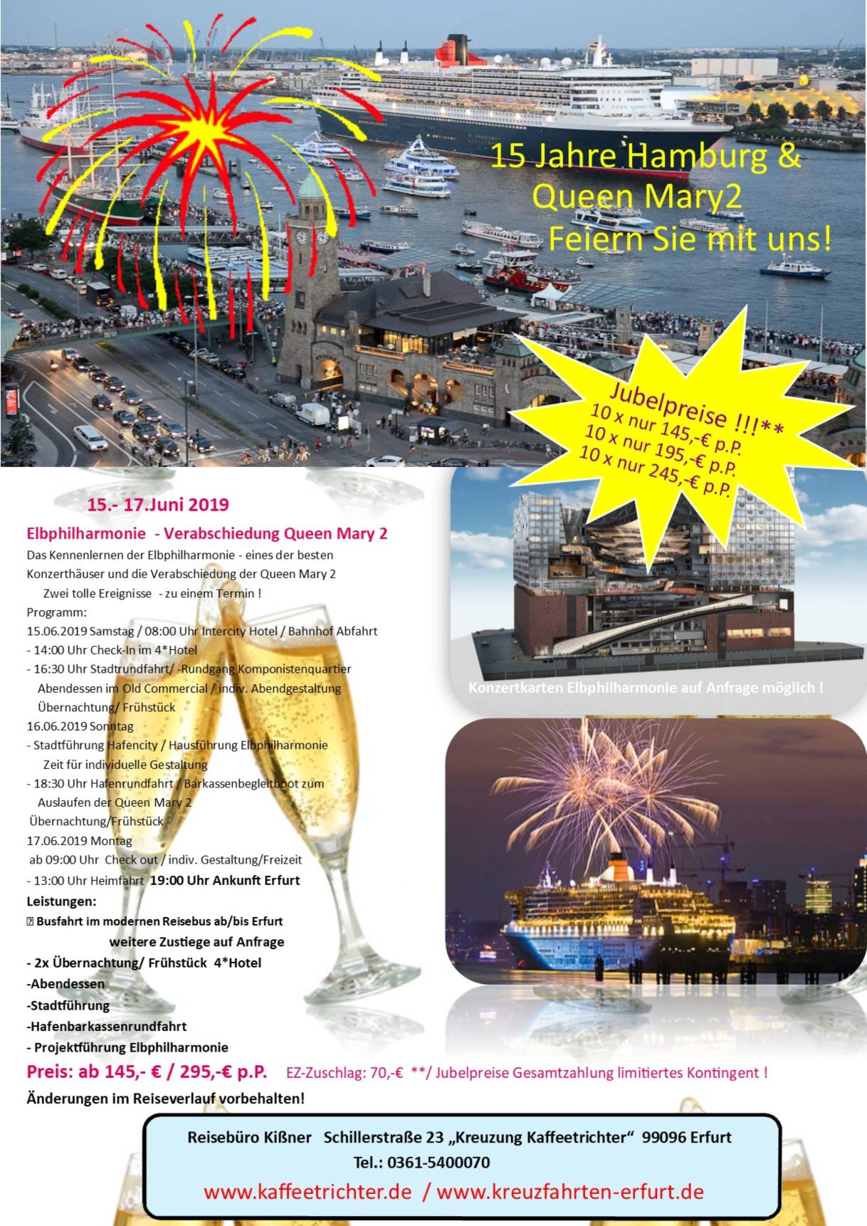 15 Jahre Hamburg & Queen Mary2